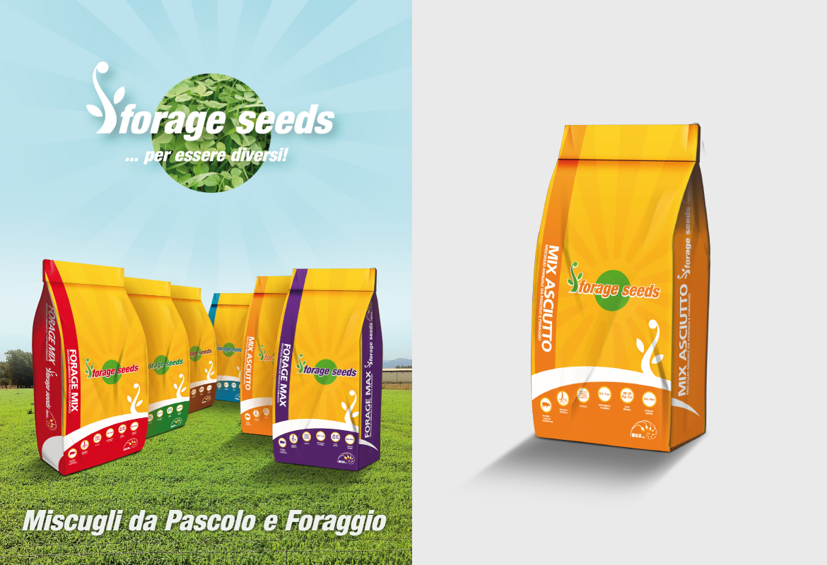 Forage Seeds - Packaging